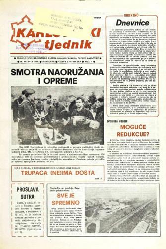 Karlovački tjednik: 1989 • 7