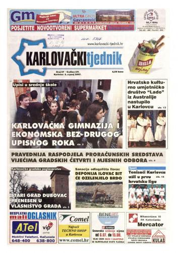 Karlovački tjednik: 2007 • 27