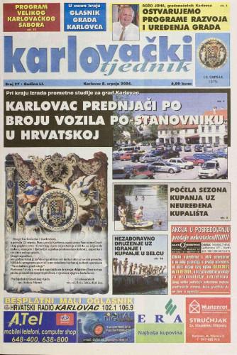 Karlovački tjednik: 2004 • 27