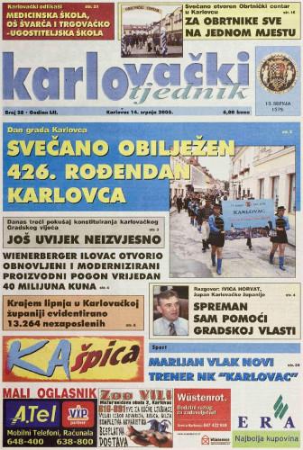 Karlovački tjednik: 2005 • 28