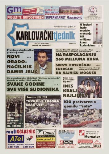 Karlovački tjednik: 2007 • 17