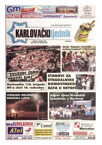Karlovački tjednik: 2007 • 26