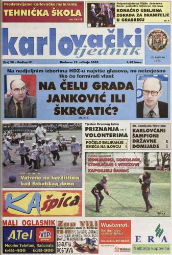 Karlovački tjednik: 2005 • 20