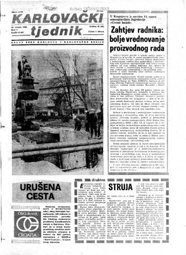 Karlovački tjednik: 1982 • 7