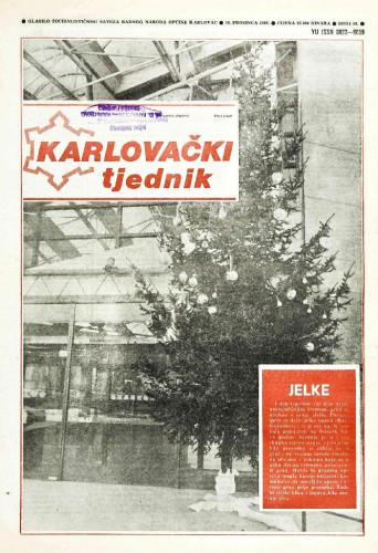Karlovački tjednik: 1989 • 50