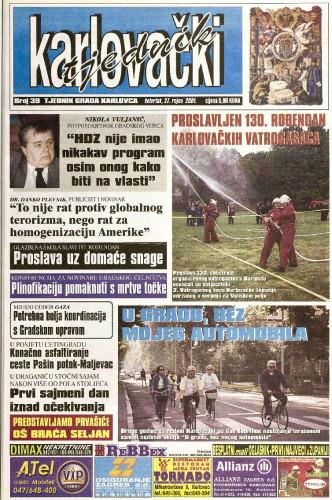 Karlovački tjednik: 2001 • 39