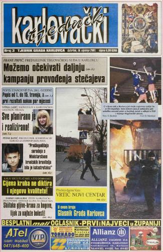 Karlovački tjednik: 2001 • 3