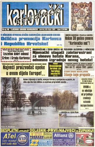 Karlovački tjednik: 2001 • 10