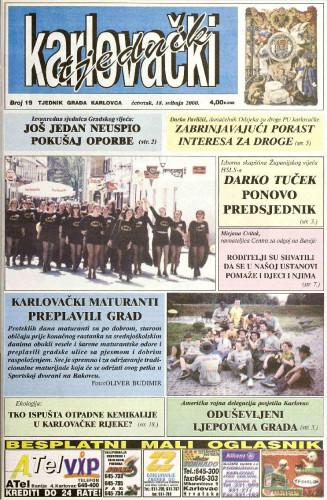 Karlovački tjednik: 2000 • 19