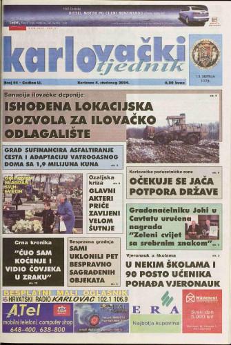 Karlovački tjednik: 2004 • 44