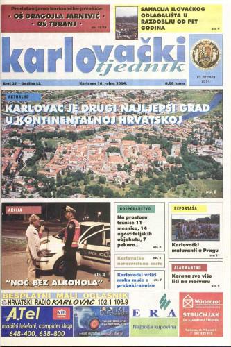 Karlovački tjednik: 2004 • 37