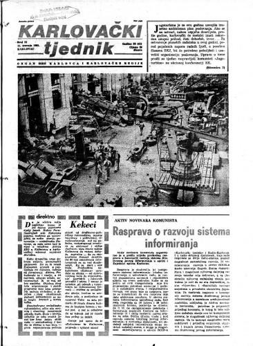 Karlovački tjednik: 1985 • 14