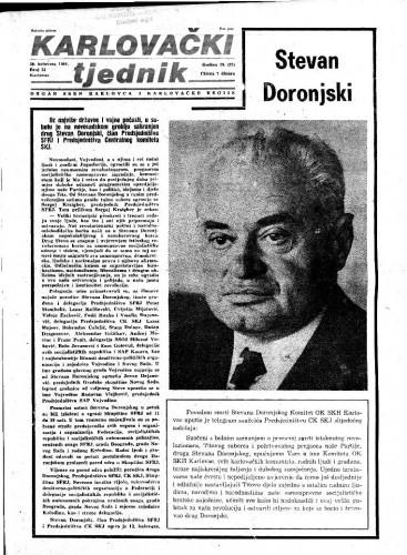 Karlovački tjednik: 1981 • 33