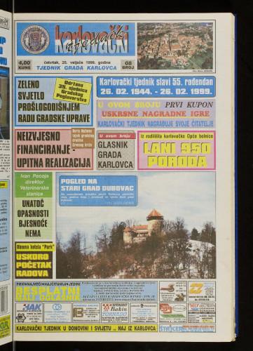Karlovački tjednik: 1999 • 8