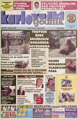Karlovački tjednik: 2002 • 30