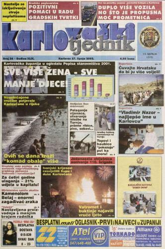 Karlovački tjednik: 2002 • 26