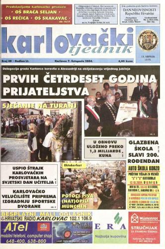 Karlovački tjednik: 2004 • 40