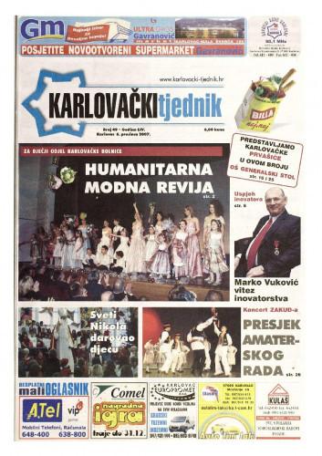 Karlovački tjednik: 2007 • 49