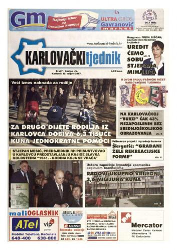 Karlovački tjednik: 2007 • 7