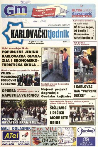 Karlovački tjednik: 2006 • 27