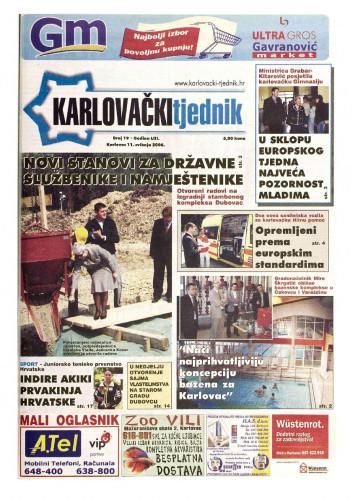Karlovački tjednik: 2006 • 19