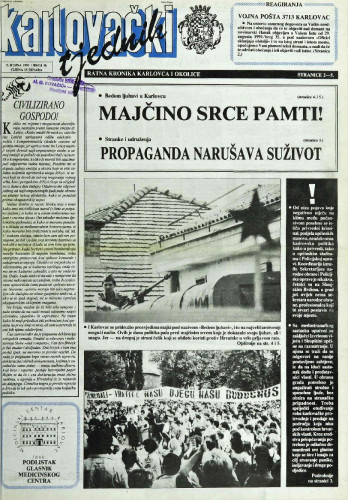 Karlovački tjednik: 1991 • 36