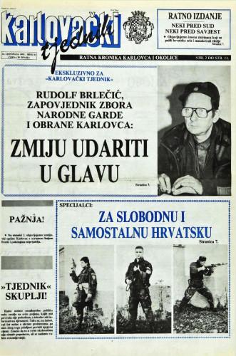 Karlovački tjednik: 1991 • 43