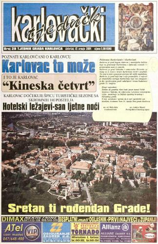 Karlovački tjednik: 2001 • 28