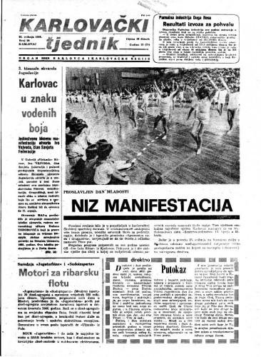 Karlovački tjednik: 1983 • 20