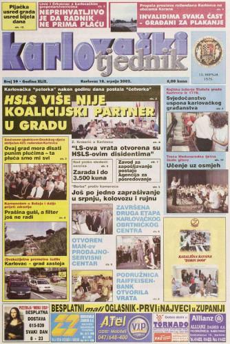 Karlovački tjednik: 2002 • 29