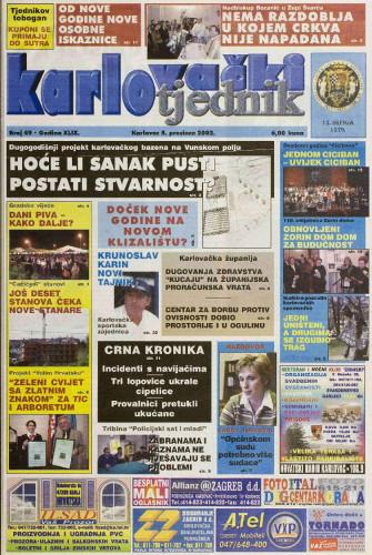 Karlovački tjednik: 2002 • 49
