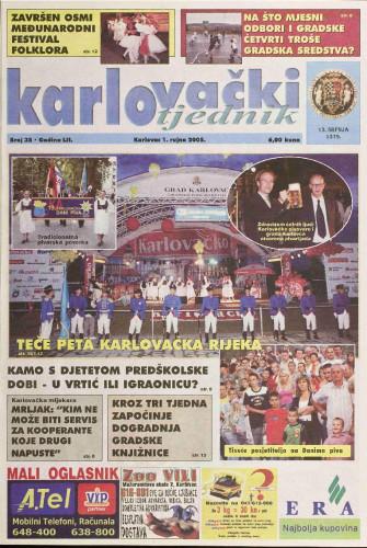 Karlovački tjednik: 2005 • 35