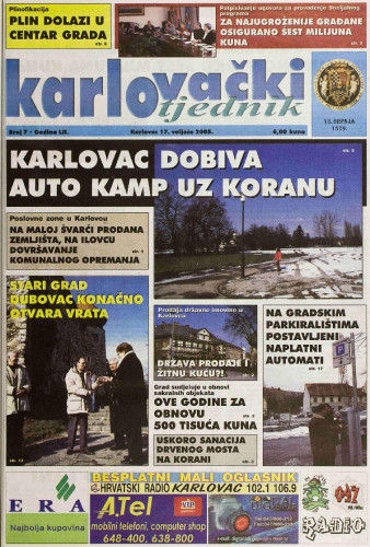 Karlovački tjednik: 2005 • 7