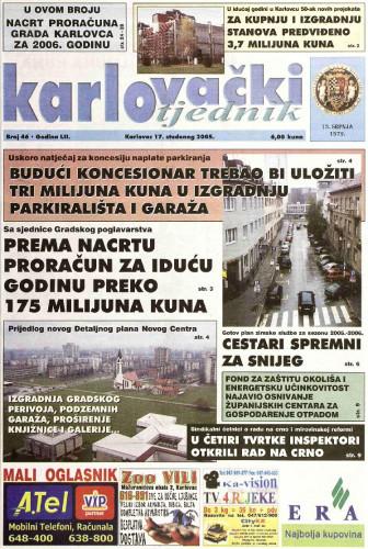 Karlovački tjednik: 2005 • 46