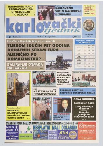 Karlovački tjednik: 2004 • 9