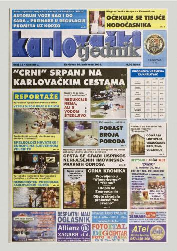 Karlovački tjednik: 2003 • 33