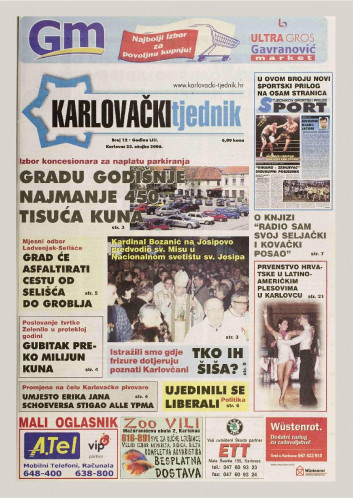 Karlovački tjednik: 2006 • 12