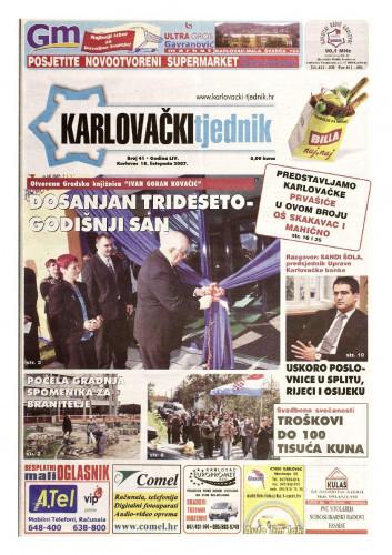 Karlovački tjednik: 2007 • 42