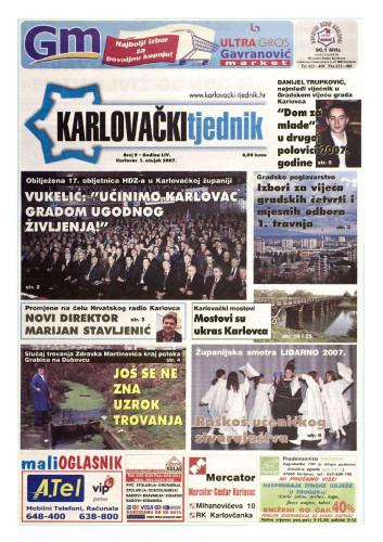 Karlovački tjednik: 2007 • 9