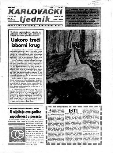 Karlovački tjednik: 1982 • 14