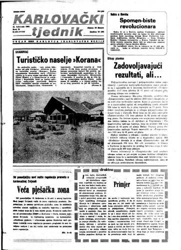 Karlovački tjednik: 1983 • 31