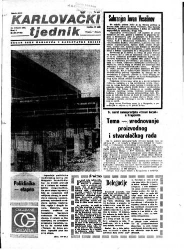 Karlovački tjednik: 1982 • 6