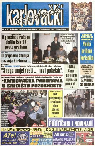 Karlovački tjednik: 2001 • 9