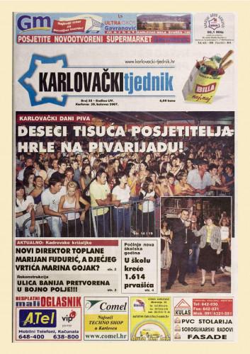 Karlovački tjednik: 2007 • 35