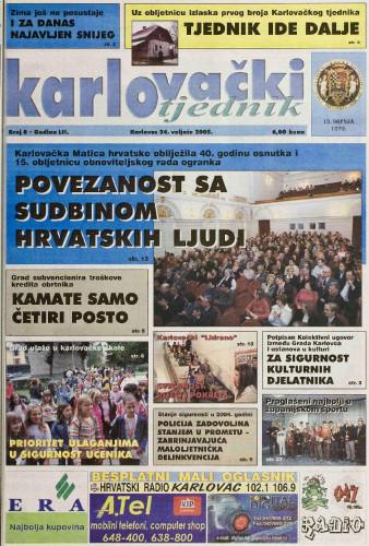 Karlovački tjednik: 2005 • 8