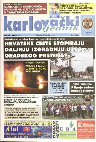 Karlovački tjednik: 2004 • 26