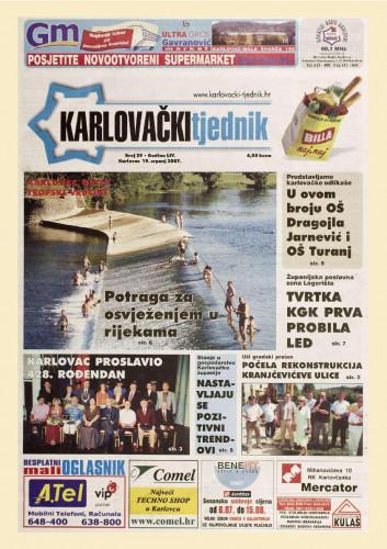 Karlovački tjednik: 2007 • 29