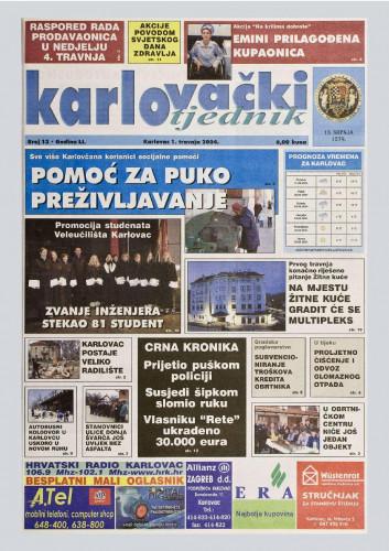 Karlovački tjednik: 2004 • 13