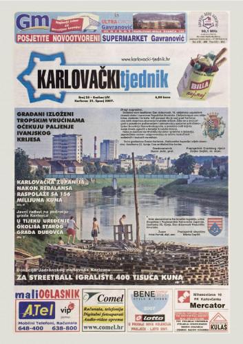 Karlovački tjednik: 2007 • 25