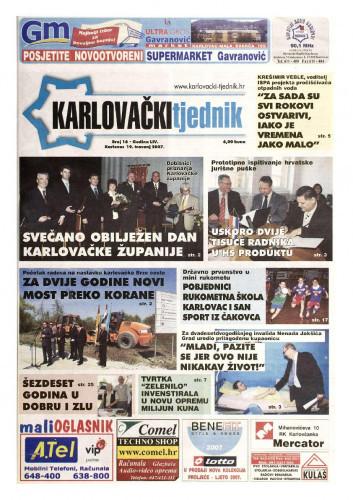 Karlovački tjednik: 2007 • 16